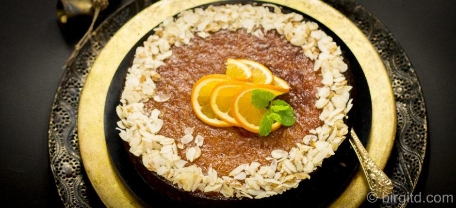 Marokkanischer Orangenkuchen