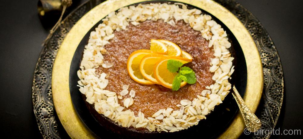 """Marokkanischer Orangenkuchen aus """"Marrakesch"""" von P. Rosenthal"""