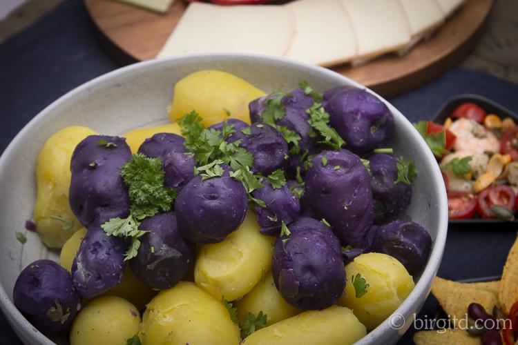 Raclette - Pellkartoffeln