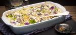 Bunter Blumenkohl mit würziger Käsesauce - Low Carb