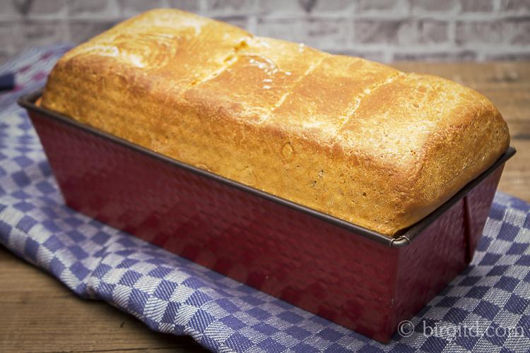 Toastbrot mit Salz-Hefeverfahren