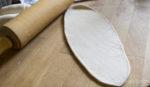 Teigfladen für Laugenstangen