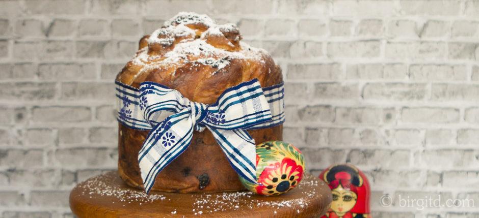 Babuschkas Kulitsch - das traditionelle russische Osterbrot neu interpretiert