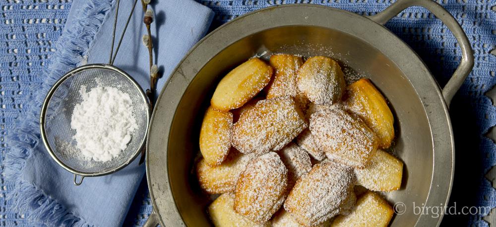 Madeleines aka Hasenpfötchen – pâtisseries françaises – délicieux!