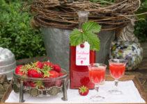Erdbeerlimes aka Strawberry Limes