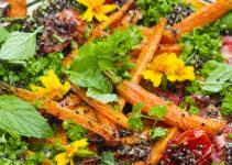 Würziges Ofengemüse: mit Quinoa