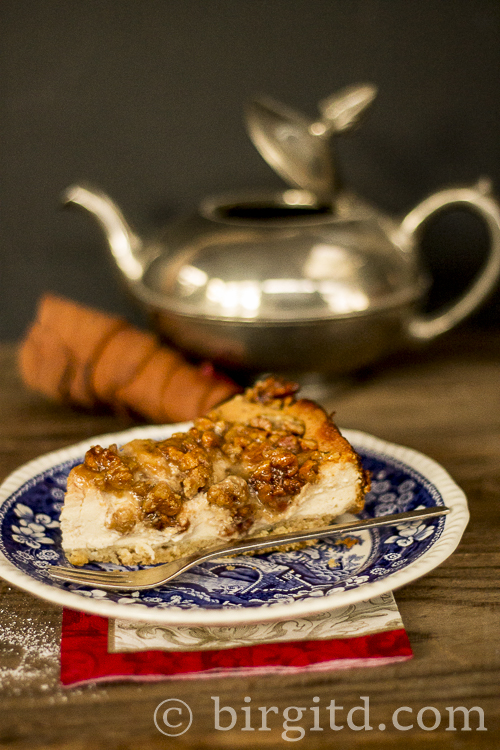 Chai-Latte Käsekuchen