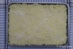 Reis auf Blech ausgestrichen für Arancini