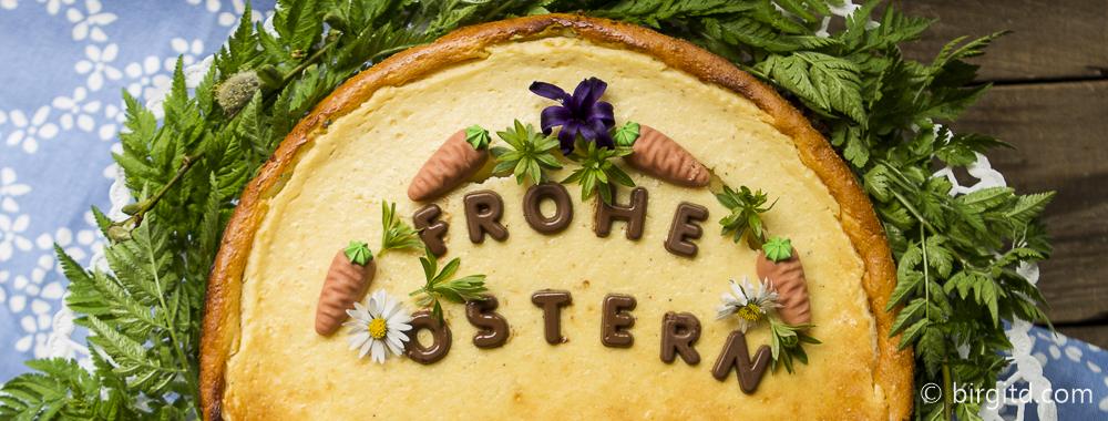Käse-Schokokuchen mit Eierlikör fürs Osterfest