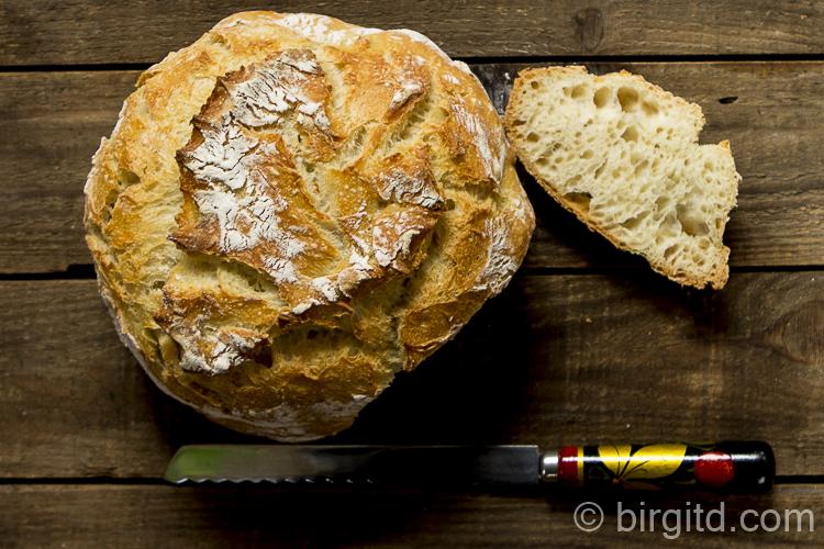 Joghurtbrot, no knead