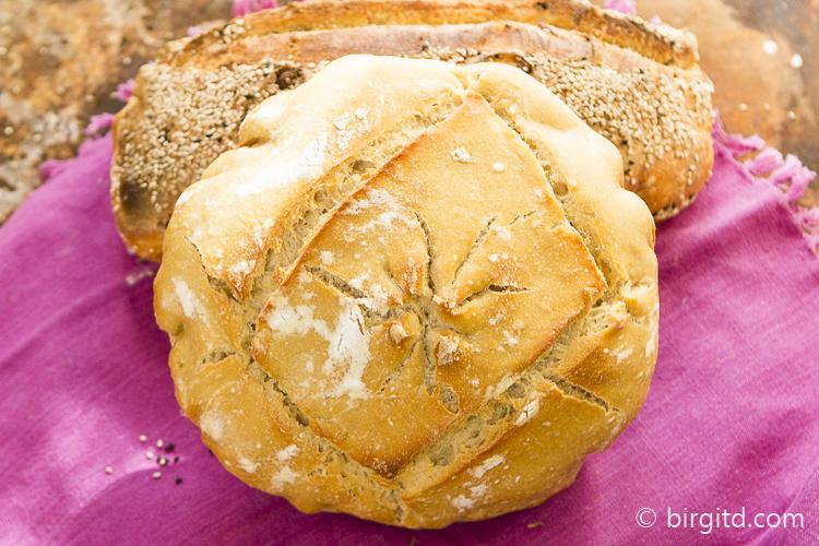 Kamut-Weizenbrot mit Sauerteig