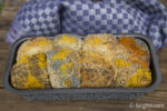 Fertig gebackenes Zupfbrötchen-Brot aka Monkey Bread