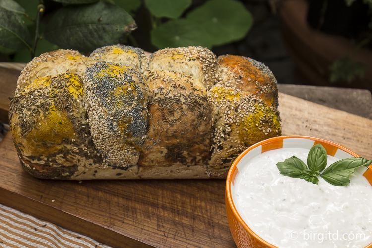 Zupfbrötchen-Brot aka Monkey Bread