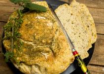 Dinkel-Kartoffelbrot mit Kräutern