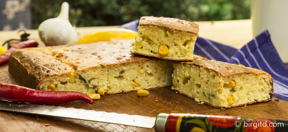 Amerikanisches Maisbrot – Brote aus aller Welt