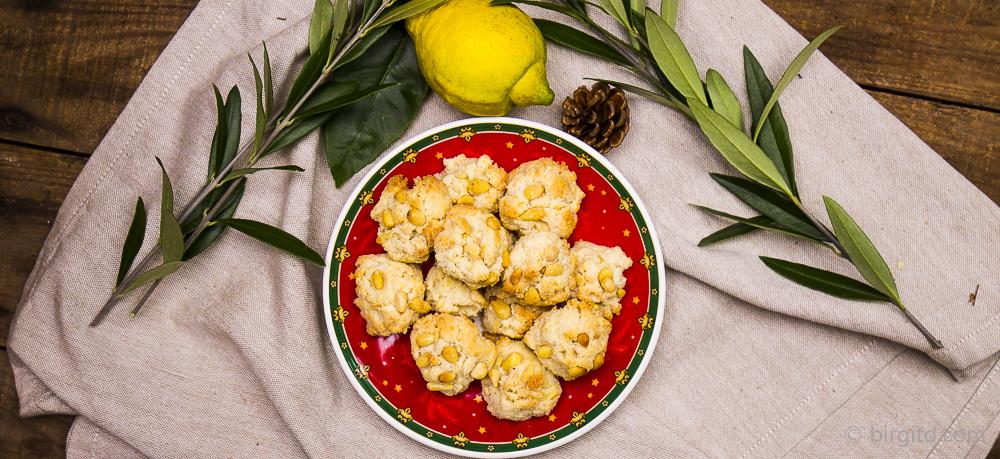 Pignoli – italienische Pinienkern-Plätzchen