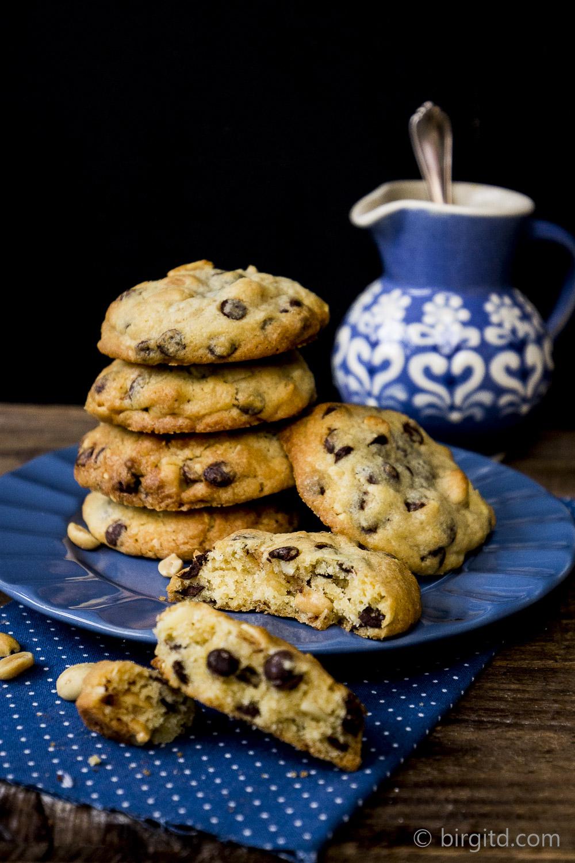 Schoko-Erdnuss-Cookies-Cookies