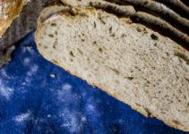 Dinkel-Roggenmischbrot, no knead