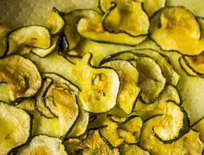 Frittierte Zucchinischeiben