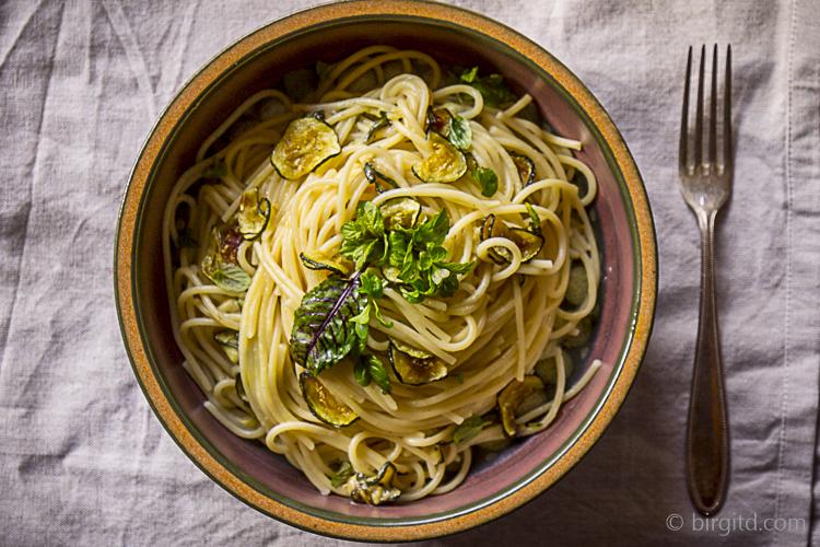 Spaghetti alla Nerona