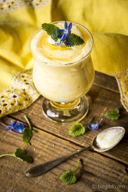 Zitronencreme - ein norddeutscher Dessertklassiker